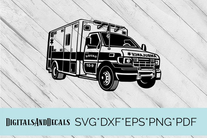Ambulance SVG Cutting File