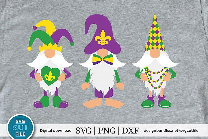 Mardi gras gnome svg, Gnomes svg, three gnomes mustache svg