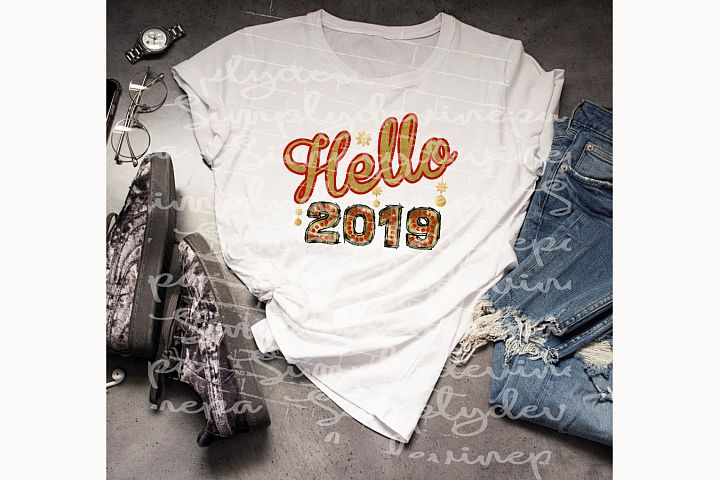Hello 2019 PNG
