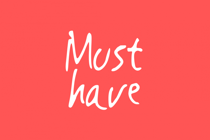 Must Have | Handwritting Font