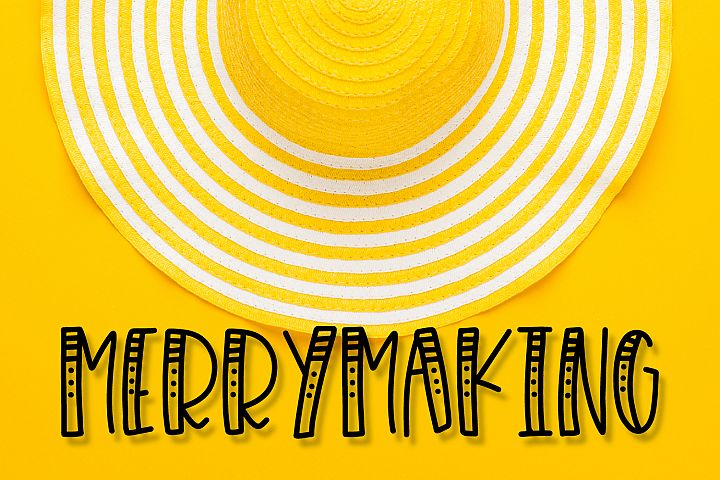 Merrymaking - 4 Styles Font Duo - Handlettered