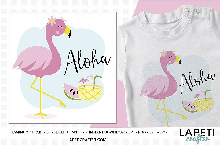Flamingo illustration svg, png, eps, jpg, flamingo party