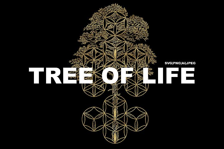 Tree of Life. SVG|PNG|Ai|JPEG