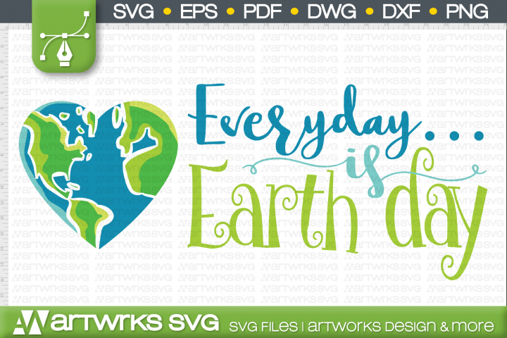 Earth day SVG files for Cricut | Mother earth