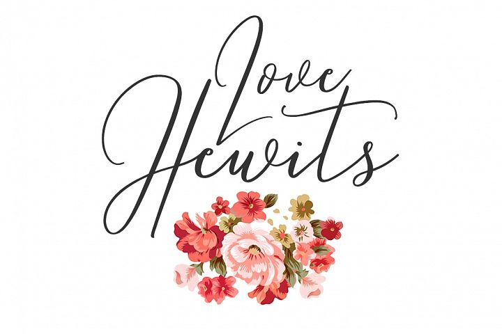 Love Hewits Typeface example image 1