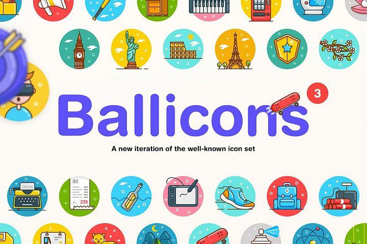 Ballicons 3 Icon Set