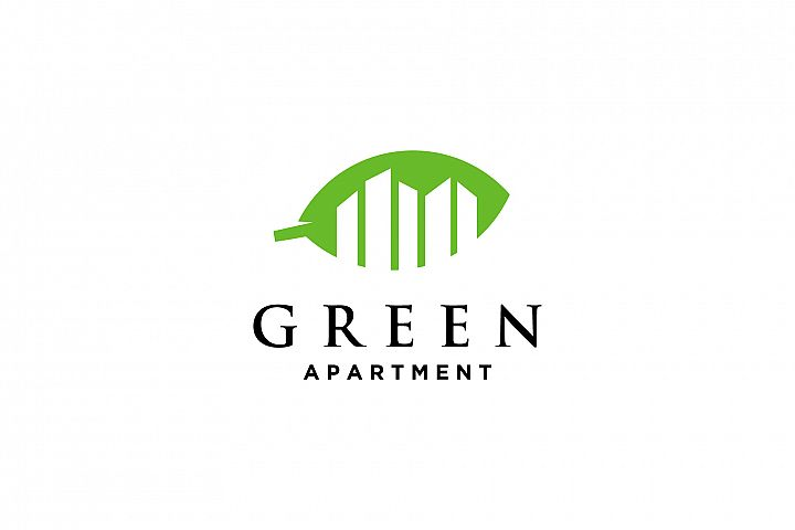 green apartment logo
