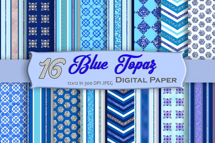 Blue Topaz Digital Paper