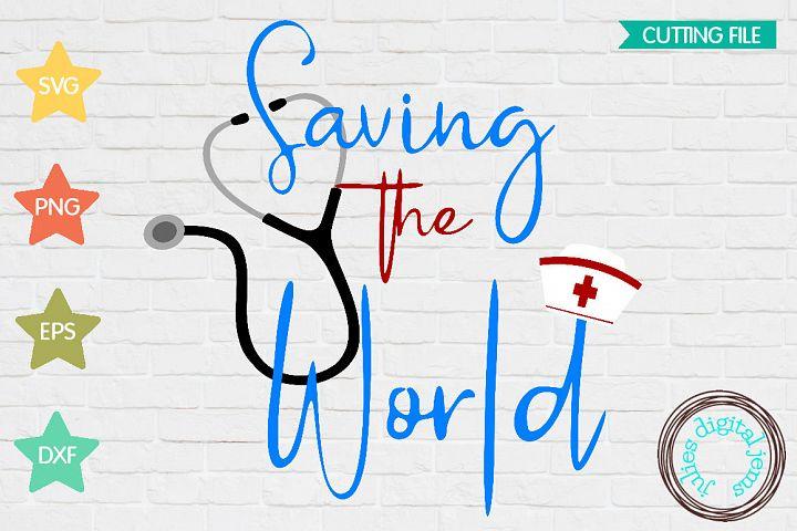 Saving the World SVG, Health Care SVG