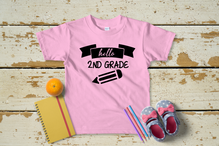2nd Day Of School SVG|Hello 2nd Grade SVG