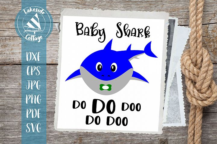 Baby Boy Shark Do do doo - Shark Week Party - Gift for Baby