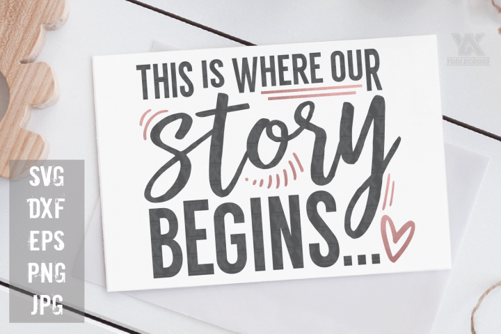 This is where our story begins SVG