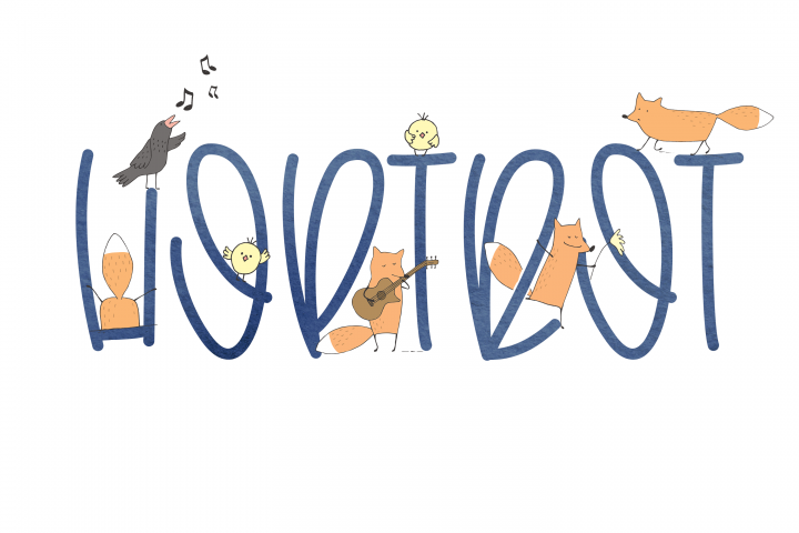 Hoptrot - A Cute Handwritten Font - Free Font of The Week Design1