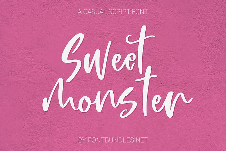 Sweet Monster Script