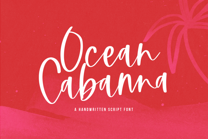Ocean Cabanna- A Handwritten Script Font
