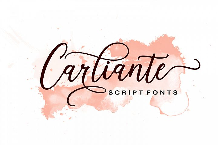 Carliante Script