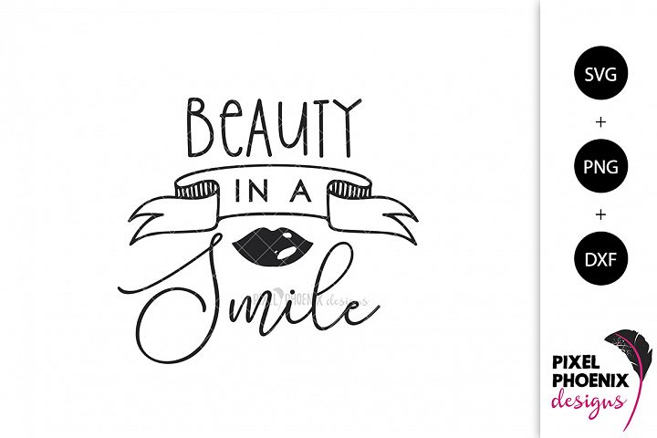 Beauty in a Smile SVG
