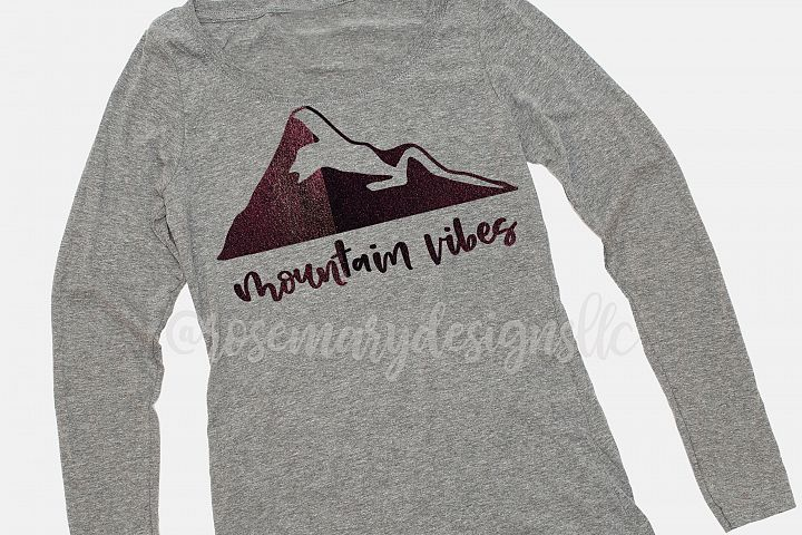 Mountain Vibes - SVG
