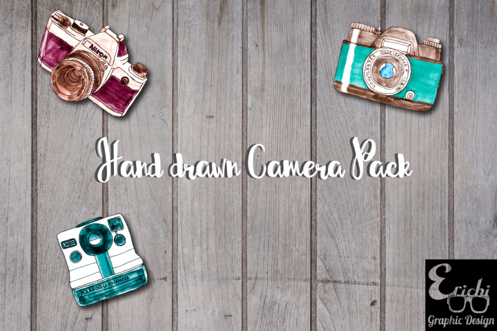 Hand Drawn Camera Pack