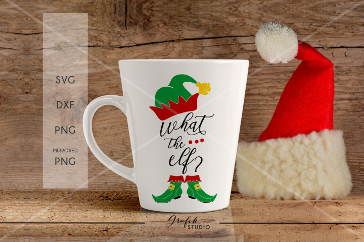 What the Elf Christmas SVG
