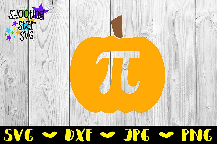 Pumpkin Pi SVG - Pumpkin Pie SVG - Fall SVG - Halloween SVG