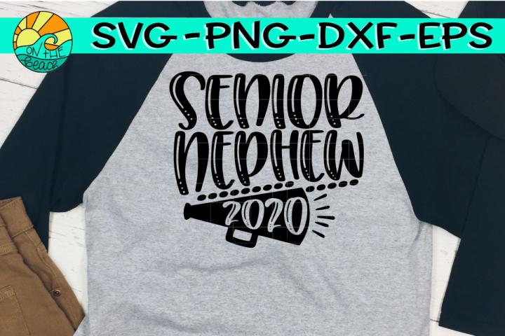 Cheer Nephew Senior 2020 - SVG PNG EPS DXF