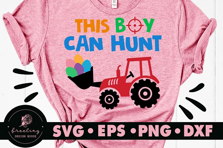 This Boy Can Hunt Easter SVG DXF EPS PNG