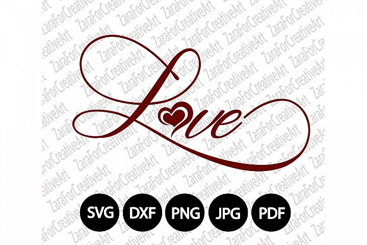 Love svg Typography svg Motivational Lettering Calligraphy svg Inspirational SVG DXF pdf jpg PNG Statement Vision Unique Poster wall art