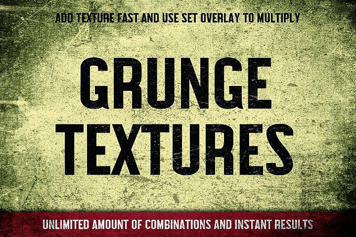 Grunge Photoshop Texture Pack