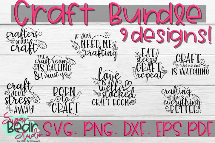 Crafting Bundle 9 Designs! - Craft SVGs