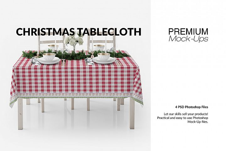 Christmas Tablecloth Set