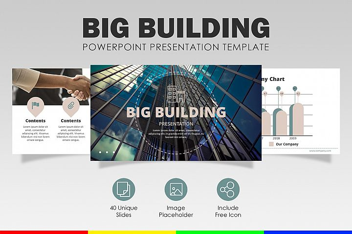 Big Building   PowerPoint Template