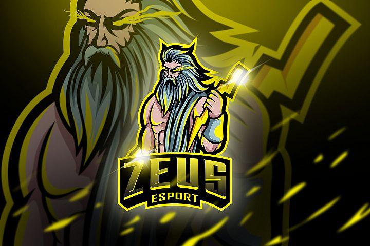 Zeus - Mascot & Esport Logo