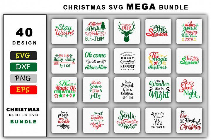 Christmas SVG Mega Bundle