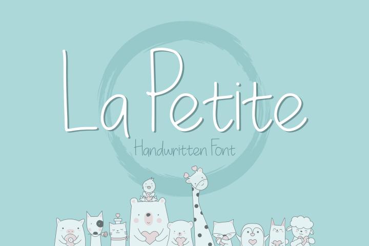 La Petite Handwritten Font