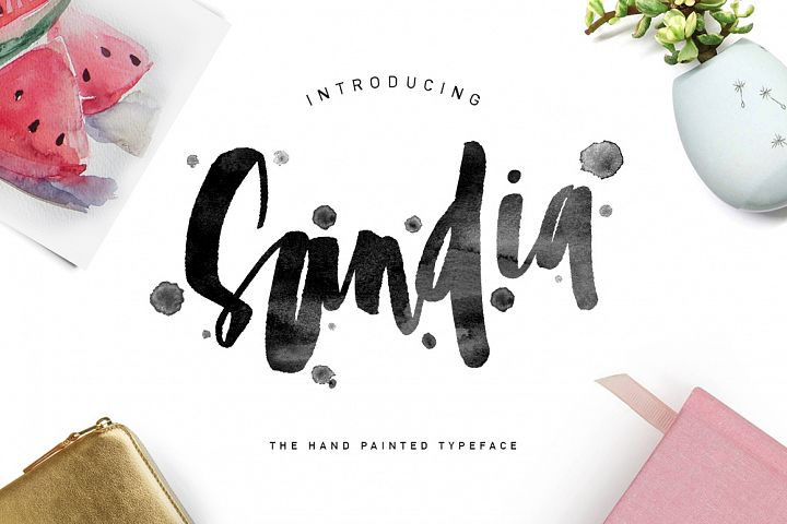 Sandia Typeface