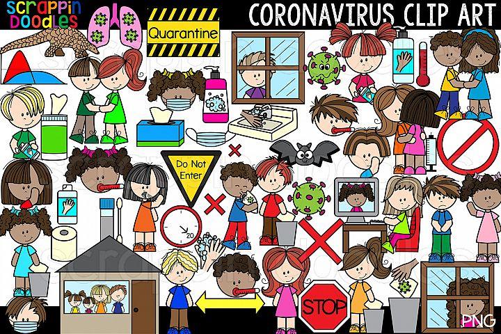 Coronavirus Covid 19 Clip Art