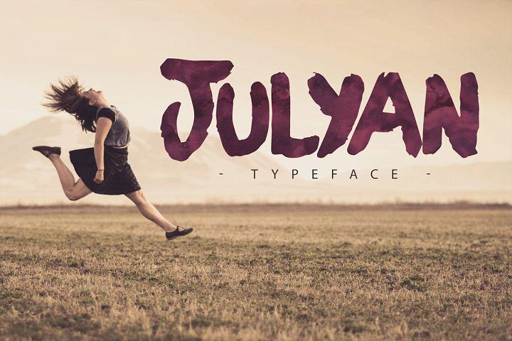 Julyan Typeface