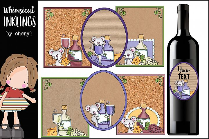 Wine Mouse Wine Labels