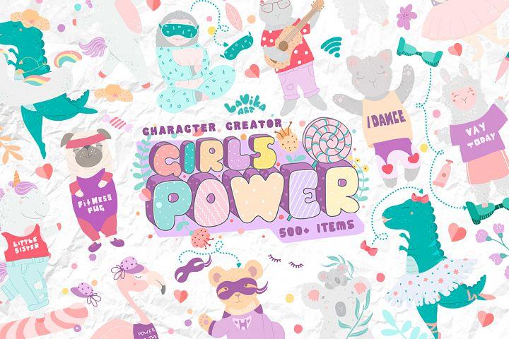 Character creator - Girls power