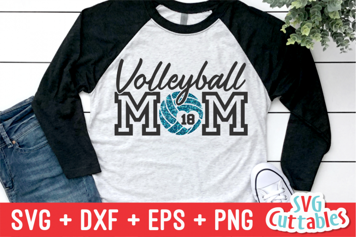Volleyball Mom | Volleyball svg Cut File