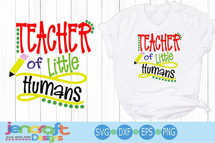 Teacher of little humans, Teacher svg, School svg