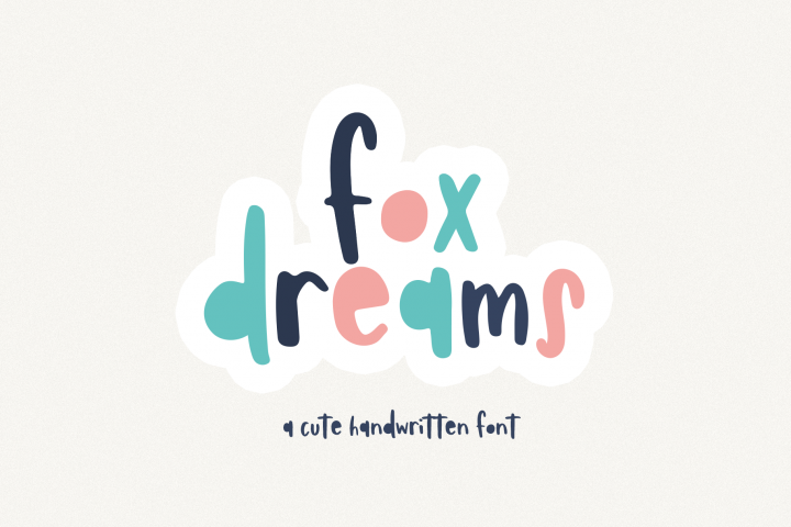 Fox Dreams - A Fun Handwritten Font