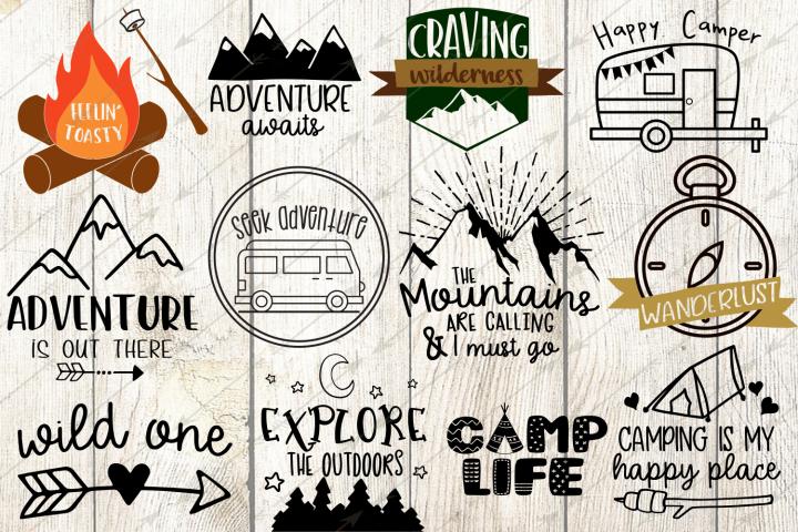 Happy Camper svg - Free Design of The Week