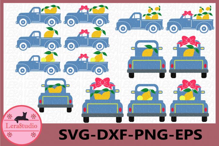 Lemon SVG, Truck Svg, Truck Lemon svg, Cricut Cut files