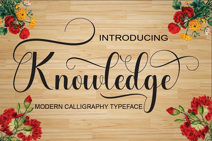 Knowledge - Free Font of The Week