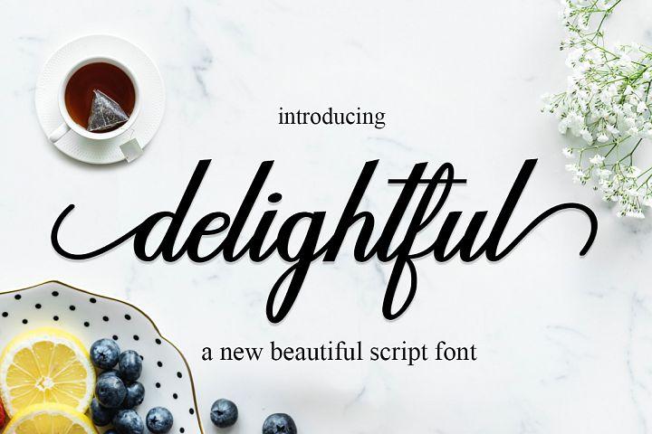delightful script