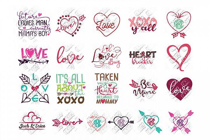 Valentines Day SVG Bundle