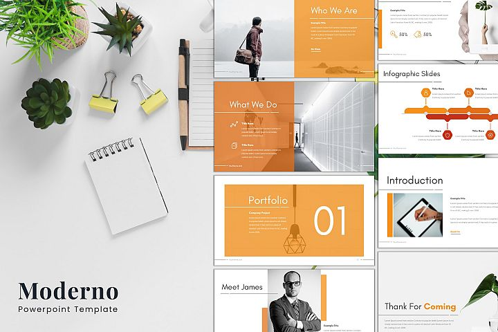Moderno - Powerpoint Template