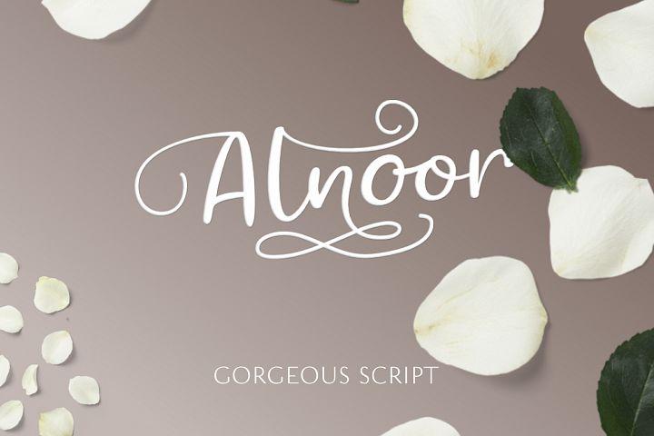 Alnoor - Gorgeous Script